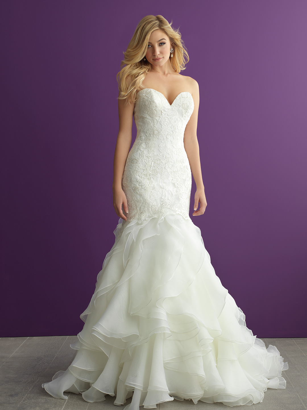 Exelent Allure Bridal Gowns Ensign - Top Wedding Gowns ...